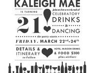 Kaleigh's 21st Birthday