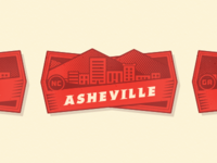 City Badge - Asheville