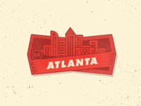 City Badge - Atlanta