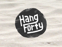 Hang Forty [the logo]