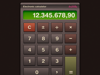 Electronic Calculator (redo)