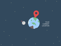 Your current location is earth