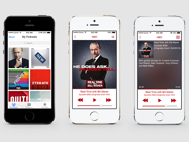 Podcast for iOS 7