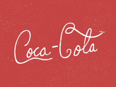 Hand Drawn Coca Cola Logo