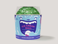 YayLabs! Ice Cream Ball Packaging