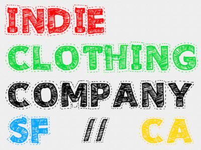 Indie Clothing Company Rev 2