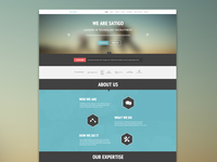 Satigo One Page Website
