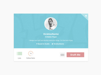 Dribbble Invite Widget