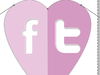 Facebook/Twitter links <3
