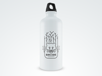 Bear & Bone Sports Bottle Mockup