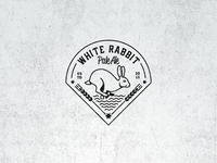 White Rabbit Pale Ale Vintage Logo
