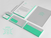 Baboon & Bottlebee Stationary Mockup