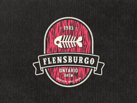 Flensburgo Beer Vintage Fantasy Label