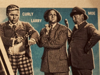 The Three Stooges trading card