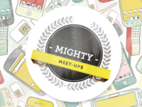 Mighty Meetup Logo