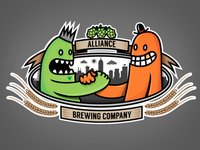 Alliance Brewery Logo