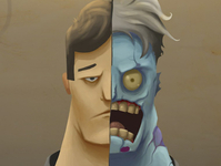 Two Face speed painting