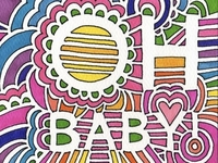 Drawing Meditation - Baby Card