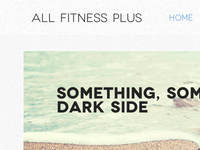 Fitness Plus Home Mockup