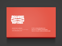 Deluxe Royale Business Card Back