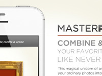 Masterpieces App - Teaser Website