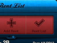 Collect Rent App - Revised Buttons & Pager