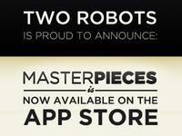 Masterpieces App is Available in the App Store