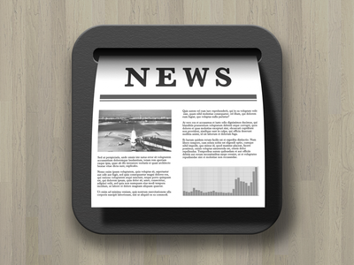 News Reader App Icon