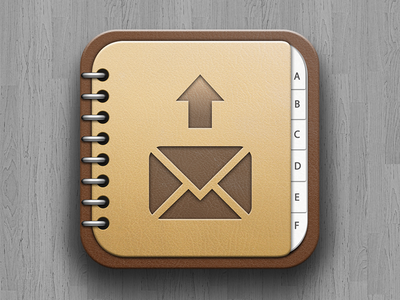 Address Book Backup App Icon