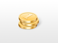 Rejected Coins Icon