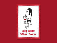 Big Nose Wine Lover