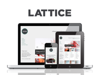 WP Lattice Responsive Portfolio Theme