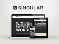 WP Singular - One Page Responsive WordPress Theme