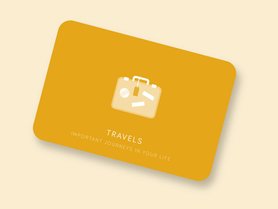 Travels Dribbble