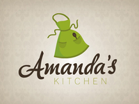 Logo Design - Amanda's Kitchen