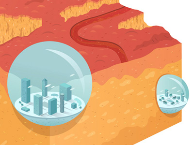 Bubblecity_geoblock_dribbble