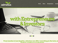 Admetus Website