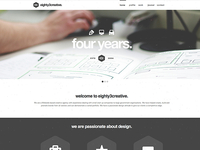 eighty3creative website