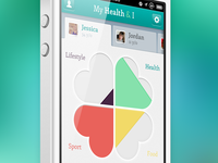 My Health iPhone app
