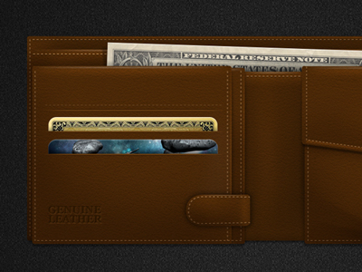 Download Genuine Leather Wallet