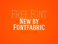 New Free Font (coming soon)