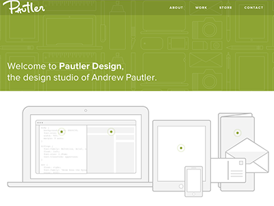 Pautler-design-website