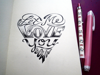 Lettering Lyrics, INOJ