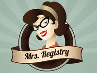 Mrs. Registry Logo