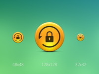 Network Backup App Icon