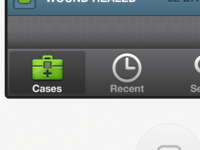 Case Management Tab Bar
