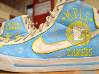 MPLS Lakers Custom Sneakers
