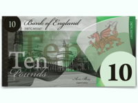 Revision of the Pound Sterling - £10, Front