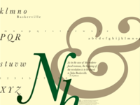 Typography through the Centuries—Baskerville