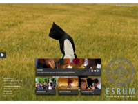 Website for Esrum Abbey (heritage institution)